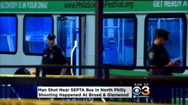Man Shot Near SEPTA Bus In North Philly