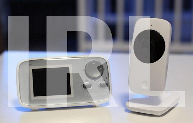 What we're buying: A terrible replacement baby monitor