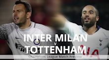 Inter Milan v Tottenham: Champions League preview