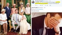 Palace's royal blunder when sharing Archie's christening photos