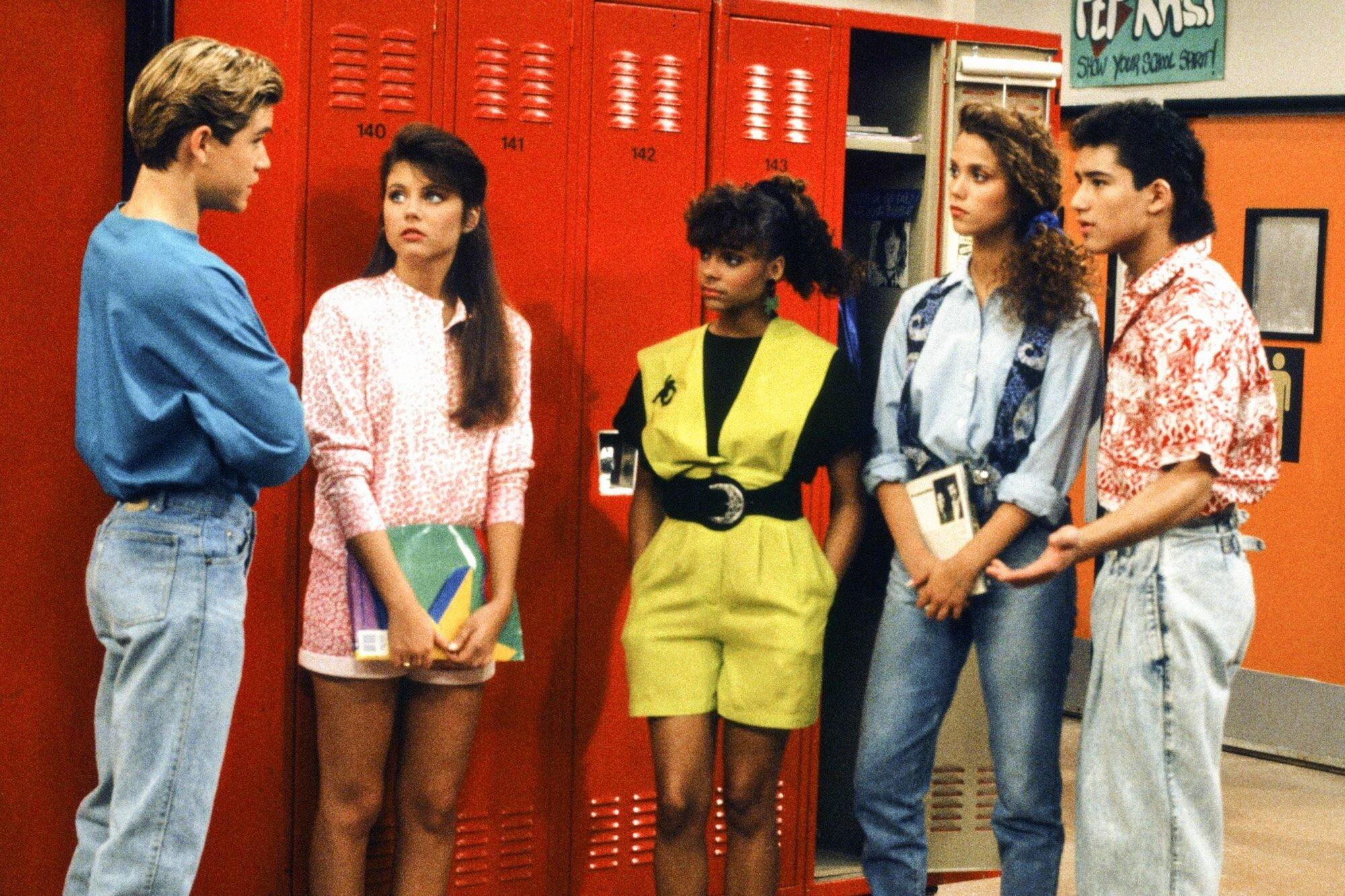 Jessie Spano Saved By The Bell 2012