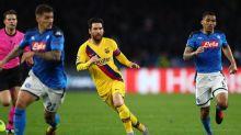 CL-Achtelfinale von Barca gegen Neapel in Gefahr