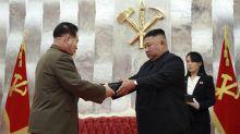 North Korea's Kim marks war anniversary amid virus concerns