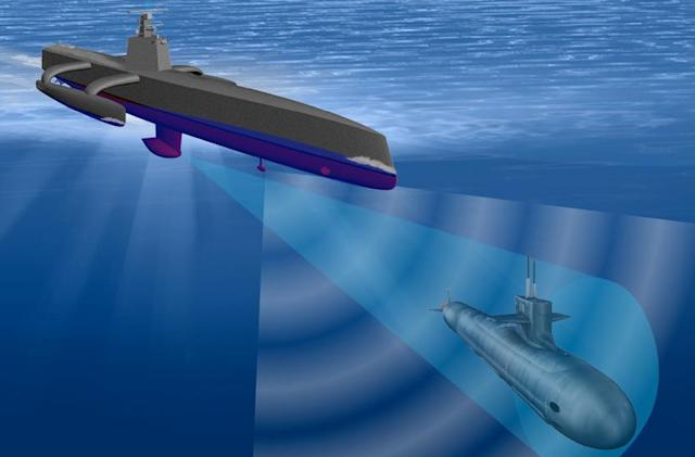 DARPA's ocean-faring drone will hunt enemy submarines