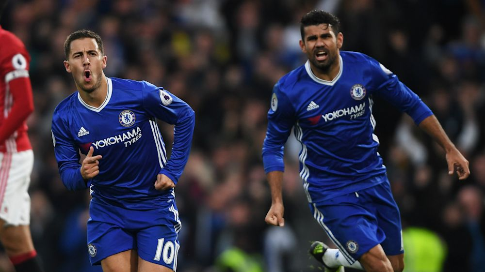 TEAM NEWS: Hazard and Costa return to Chelsea's starting XI against Southampton