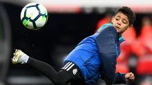 Ronaldo Jr dazzles on Juventus debut