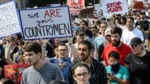 Boston free speech rally drowned out by march against racism