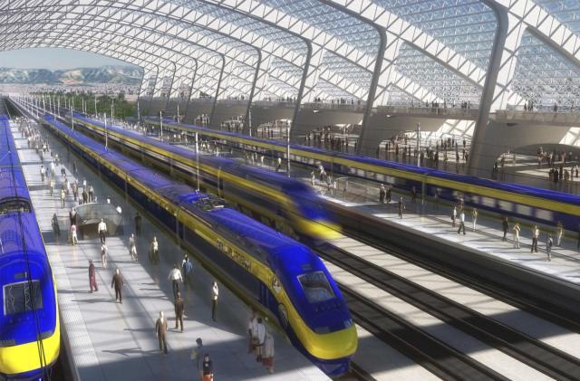 California backs down on high-speed LA-to-SF rail plan