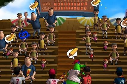 MLB Superstars pitches us some new screens
