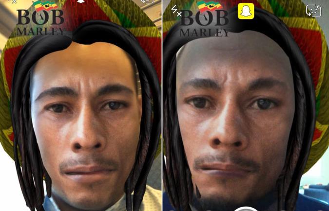 Snapchat's 420 Bob Marley filter is just digital blackface