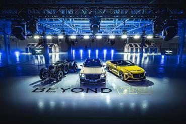 賓利預告10年內將全面停產內燃機動力車款,首部純電動車將於2025年推出