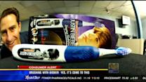 Brushing with Bieber! Yes, it's come to this