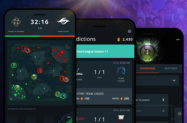 'Dota 2' app rewards you for predicting pro match winners