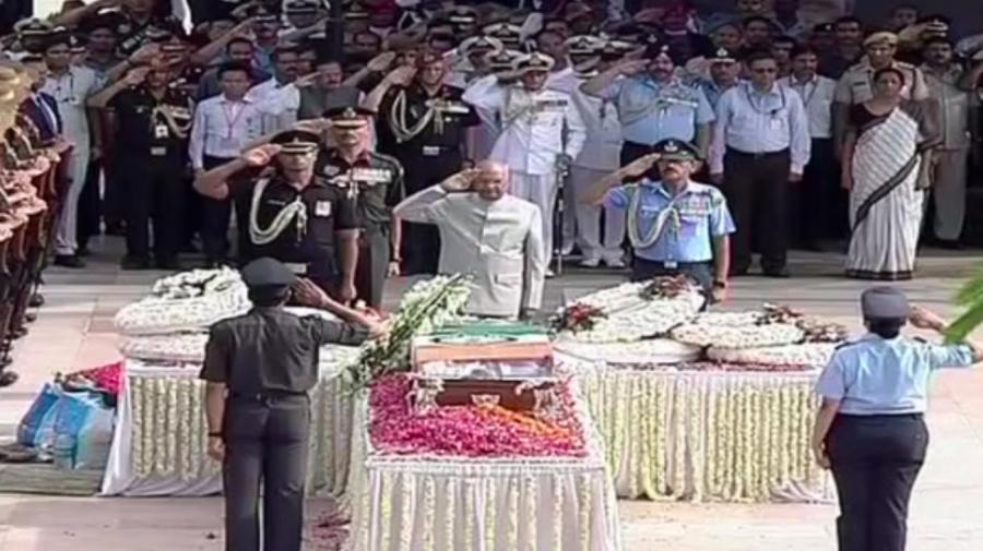 In photos: Vajpayee's last journey