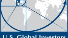U.S. Global Investors: Innovating Funds To Provide Unique Opportunity To Investors Via Blockchain, Gold, Airlines And More