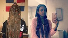 Woman claims her Banana Republic manager said braids too 'urban' and 'unkempt' for store's image