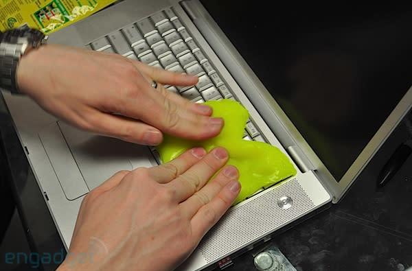 Cyber Clean smears our keyboards, fills our nostrils as we go hands-on (video)
