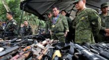 Philippine leader to go after Maoist rebels after scrapping talks