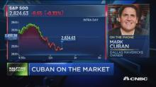 Mark Cuban on markets: I have a lot of cash on the sideli...