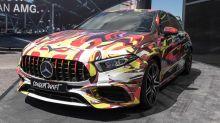 La Mercedes-AMG A 45 s'exhibe aux 24 Heures du Nürburgring