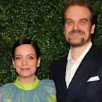 'Stranger Things' star David Harbour married singer Lily Allen in a surprise Las Vegas wedding ceremony
