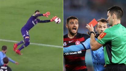 Keeper commits 'unbelievable' Sydney derby gaffe
