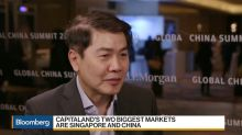 CapitaLand CEO Says China Property Curbs Haven't Impacted Demand