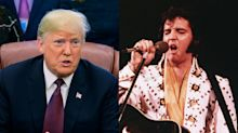 Trump honoring Elvis Presley with a Medal of Freedom award sparks online debate on racism