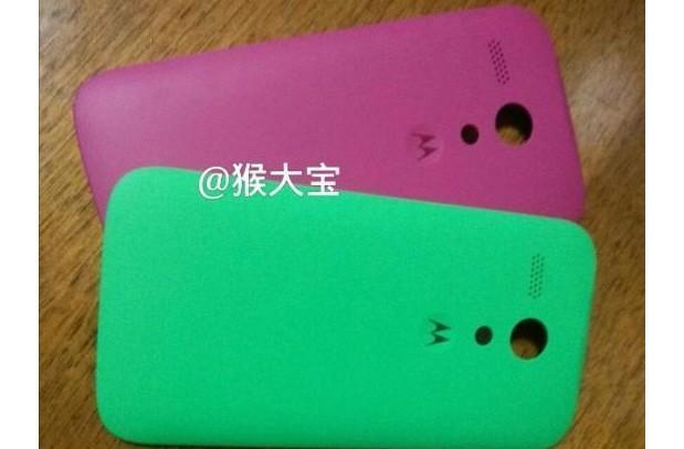 Photo hints that lower-cost Moto X could use swappable back panels