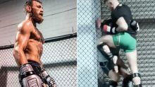 Conor McGregor brutalises sparring partners in scary new video