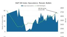 Large Speculator Positions on S&P 500 Index for Week 1 of 2018