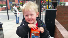 Boy, 6, is 'a health and safety risk to his school' because of his feet