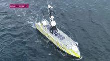 Survey ship at sea 22 days, with no crew