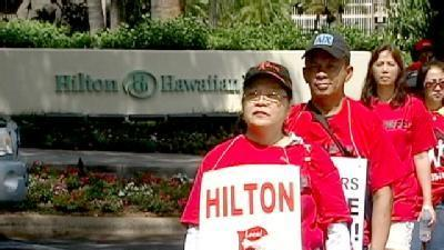 Local 5 Employees Strike Against Hilton