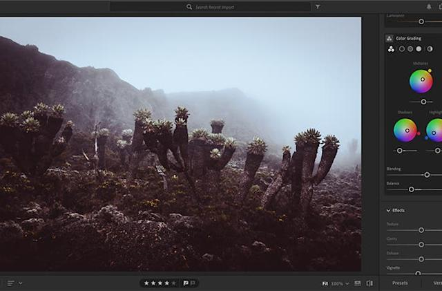 Adobe adds more film-like color grading tools to Lightroom