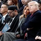 Video shows Trump staring as King of Morocco falls asleep during Macron speech