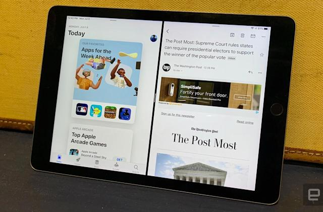 Gmail finally works with the iPad's split-view multitasking