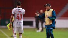Dome já tem no Flamengo mesmo número de derrotas de Jorge Jesus