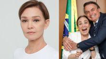 """Júlia Lemmertz critica Regina Duarte: """"Onde está sua lucidez?"""""""