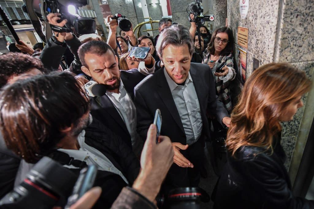 Fernando Haddad: jailed Brazilian leader's plan B