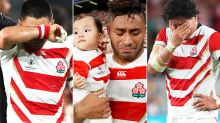 'Absolutely gutted': Japanese players in tears in devastating scenes at Rugby World Cup