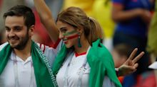 Photo of Iranian woman watching the World Cup without a hijab goes viral