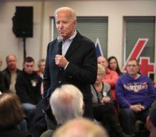 Joe Biden Challenges Iowa Man to a Push-Up Contest During Heated Exchange
