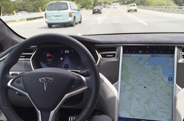 Tesla won't let its cars autonomously drive for Uber or Lyft