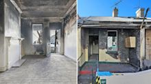 'Uninhabitable': Fire-bombed house in Sydney sells for almost $1m