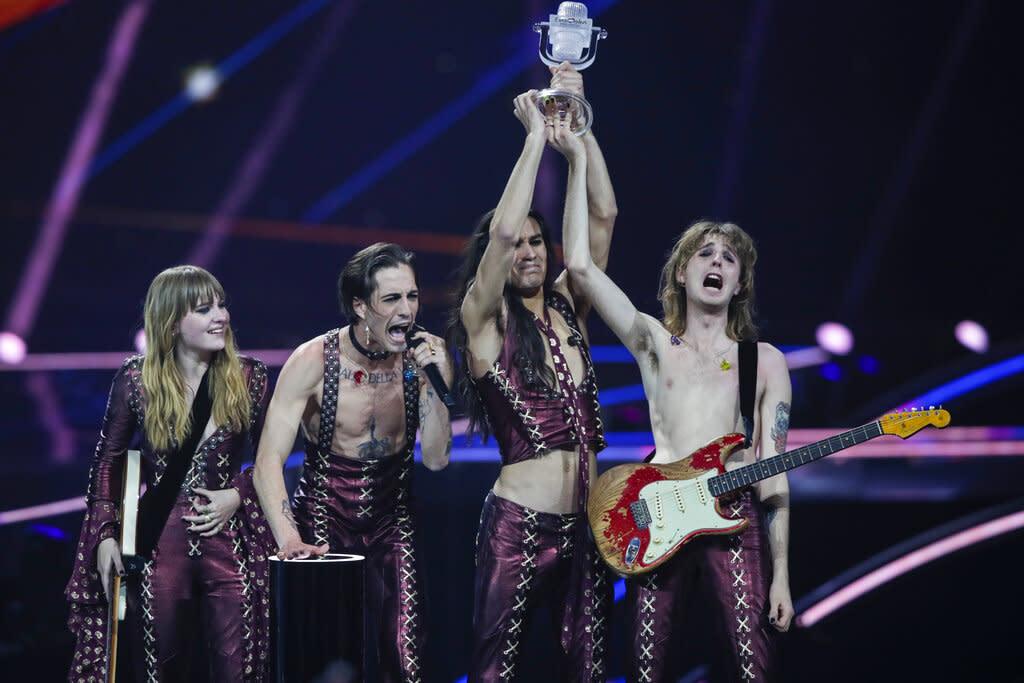 Måneskin Wins 2021 Eurovision Song Contest