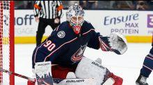 Blue Jackets' Elvis Merzlikins named to NHL All-Rookie team