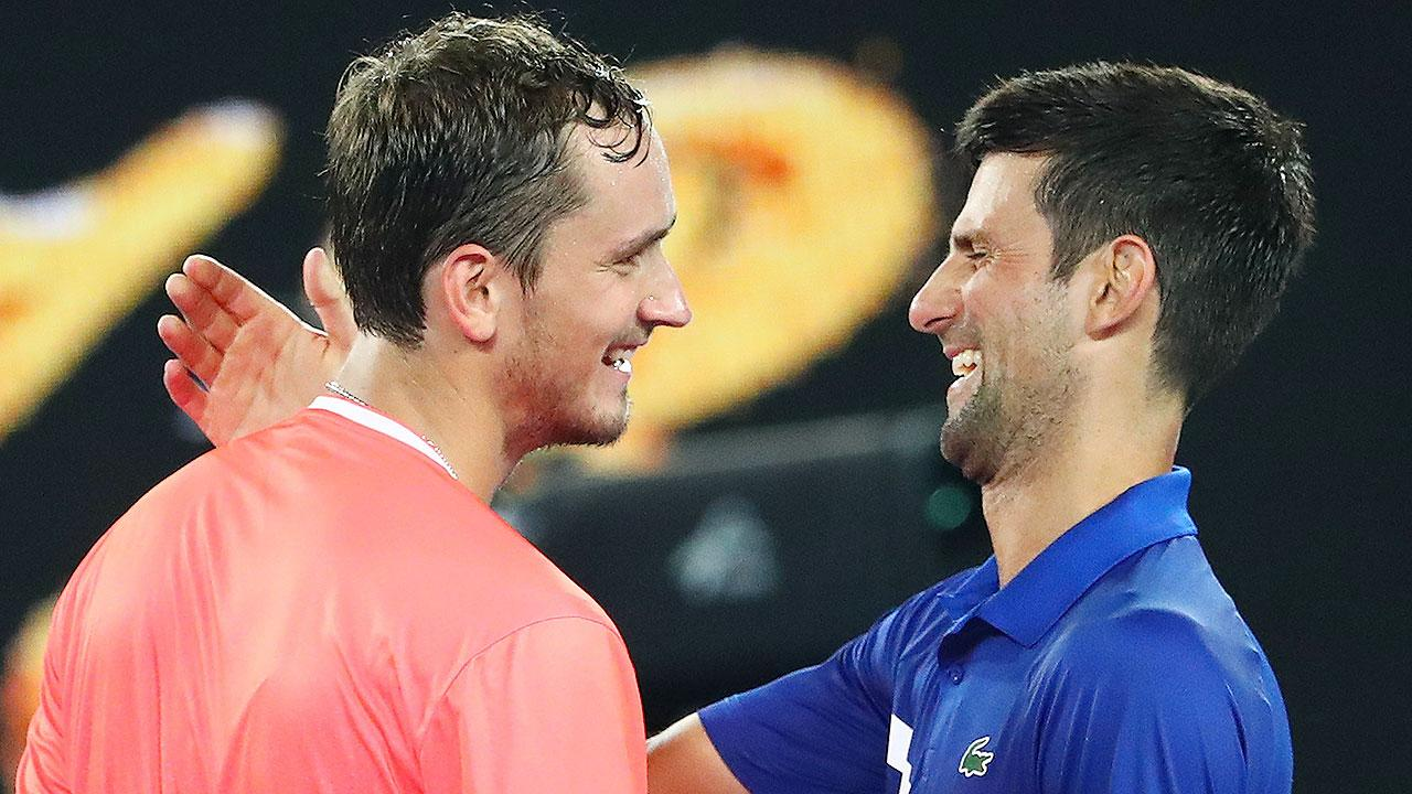 How Djokovic made a mockery of young star's bold claim