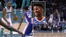 Sixers' Jimmy Butler spoils NBA star's 60-point haul