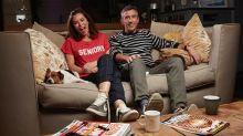 Steve Coogan and Anna Friel join Celebrity Gogglebox for SU2C
